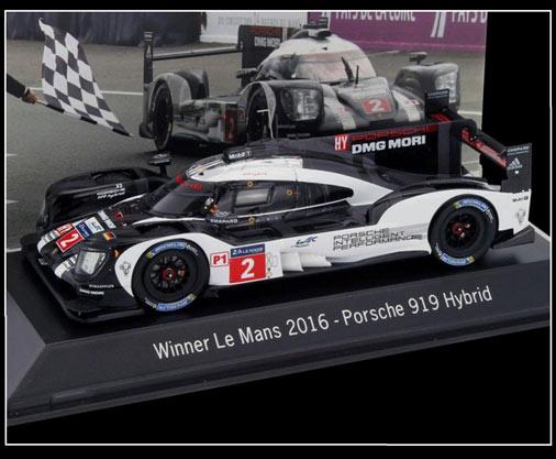 Winner 24h Le Mans 1985 neu Museum: Porsche 956 LH Spark 1:43 MAP02028513