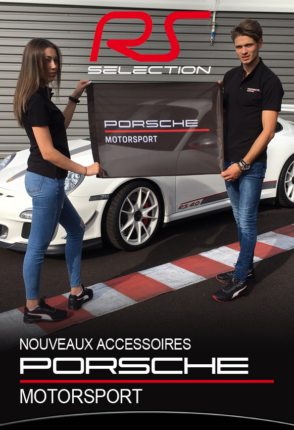 Porte clés Tour de cou Porsche Motorsport Porte clés Tour de
